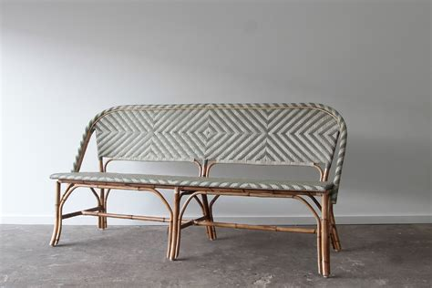 Seating Bench by Miami Bench Seating Naturally Rattan And Wicker