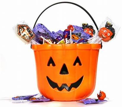 Candy Halloween Clip Clipart Bucket Trick Treat