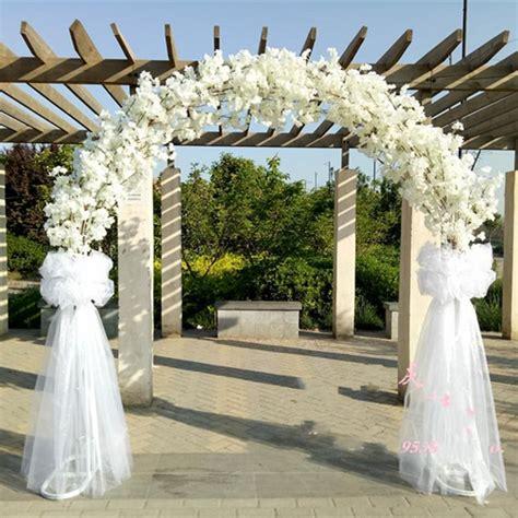 luxury wedding center pieces metal wedding arch door