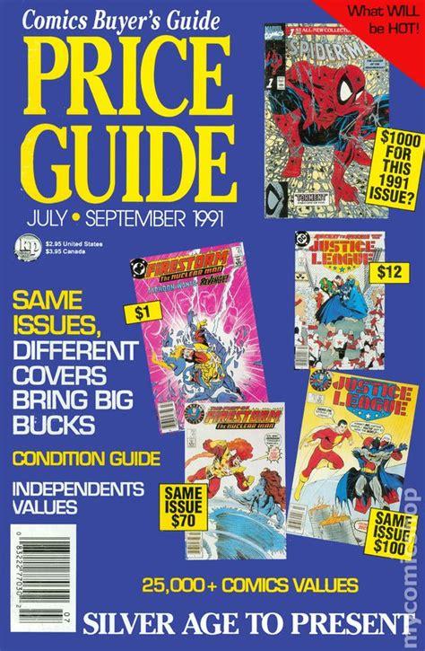 Comics Buyer's Guide Price Guide (1990 Magazine) Comic Books