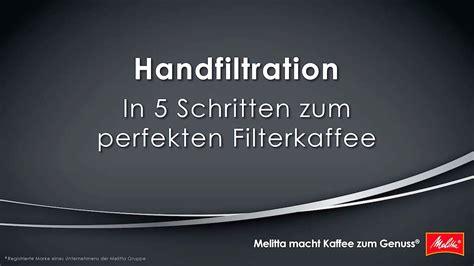 kaffee ohne maschine kaffee ohne maschine zubereiten in 5 schritten zum perfekten filterkaffee