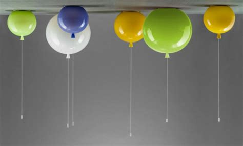 Innovative Deckenlampe In Form Von Einem Heliumballon