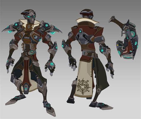 ArtStation - Raid Armor Concepts, Johnson Truong