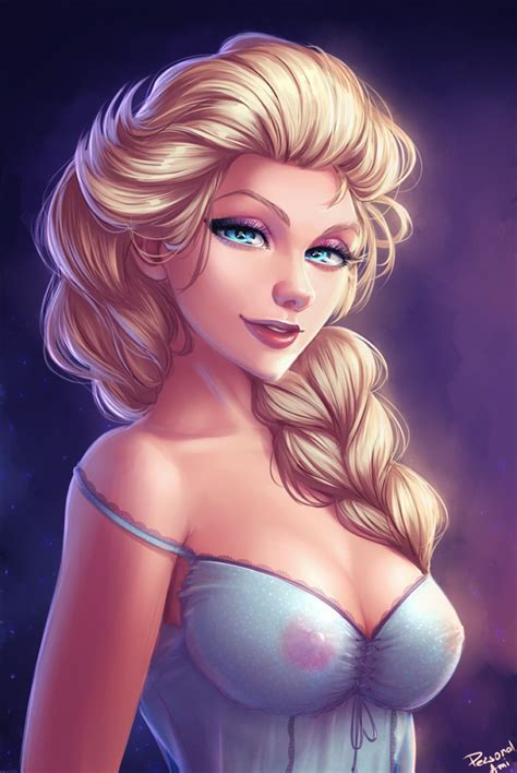 Not Safe For Work Wednesday Elsa Personal Ami Drawn D Girls Pinterest Elsa
