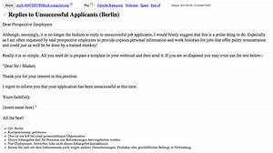 Best solutions of sample reply letter unsuccessful job application sample reply letter unsuccessful job application cover spiritdancerdesigns Images