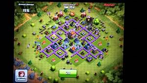 Clash of Clans Town Hall Level 7 Funnel Defense - Mortar ...