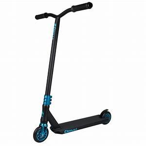 Chilli Pro Sun Reaper Stunt Scooter – Black/Blue | eBay