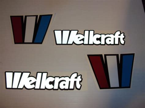 Wellcraft Boat Stickers by Sell Wellcraft Reflective Marine Vinyl Boat Decals Custom