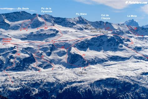 Alpe D Huez Grandes Rousses Off Piste