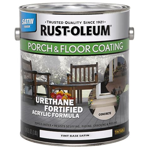 Rustoleum Garage Floor Clear Coat Home Depot by Porch Floor Satin Tint Base Product Page
