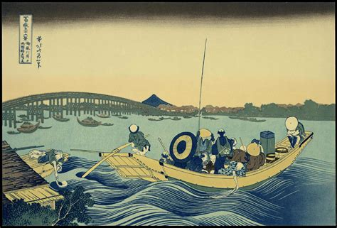 Katsushika Hokusai: Set of seven prints - Ohmi Gallery