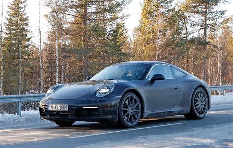 new porsche 911 porsche 911 992 generation spy shots and first details