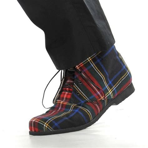 mens tartan boots mens wear pinterest boots love