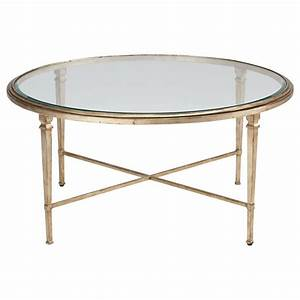 heron round coffee table ethan allen us from ethan allen With mirrored circle coffee table