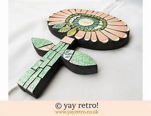 Susie Cooper Mosaic Flower Vintage Shop Retro China
