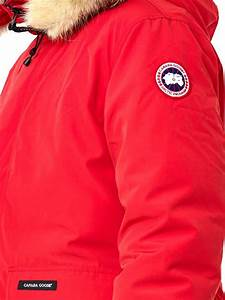 Canada Goose Mens Ontario Parka Red