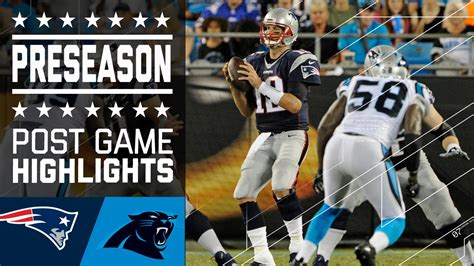 Uk viewers will be able to watch the match online for free via the itv hub and. Patriots vs. Panthers   Game Highlights   NFL - YouTube