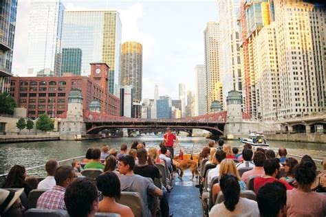 Chicago River Boat Cocktail Cruise by Chicago Architecture Tours At Navy Pier Seadog Cruises