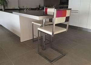 Chaise Pour Table Haute : chaise de bar design echass pied mobilier les pieds sur la table ~ Teatrodelosmanantiales.com Idées de Décoration