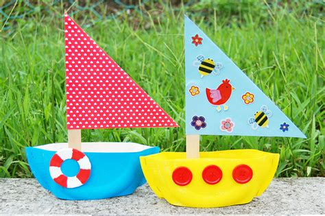transportation crafts for craft ideas 126 | paperplatesailboat main