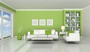 Decoration Mur Interieur Salon : 46 ides dimages de deco peinture salon 2 couleurs ~ Teatrodelosmanantiales.com Idées de Décoration
