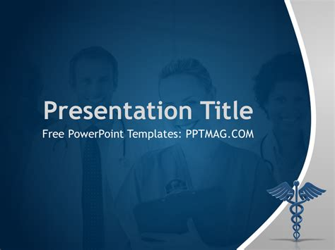 Free Health Care Powerpoint Template