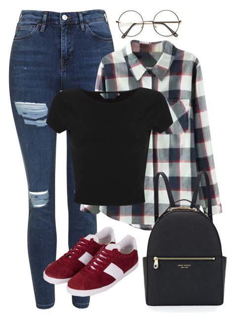 School inspired outfit - BTS // Rap Monster | Polyvore | Pinterest | Bts rap monster Namjoon ...