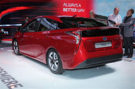 Cost Of Toyota Prius by 2016 Toyota Prius To Cost From 163 23 295 Autocar