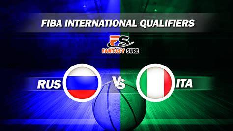 RUS vs ITA Dream11 Prediction  Russia vs Italy, FIBA ...