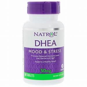 Dhea 50 Mg 60 Tablets By Natrol