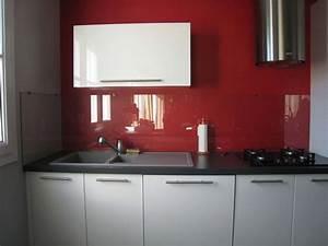 Crédence Cuisine En Verre : credence cuisine verre free credence cuisine blanche ~ Nature-et-papiers.com Idées de Décoration
