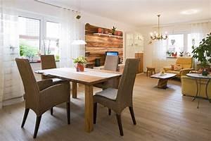 Wandbilder Für Küche Und Esszimmer : wohnzimmer esszimmer in einem gestalten ~ Orissabook.com Haus und Dekorationen