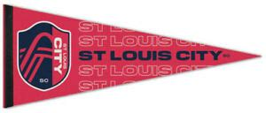 ST. LOUIS CITY SC MLS Soccer Team Premium Felt Collector's ...