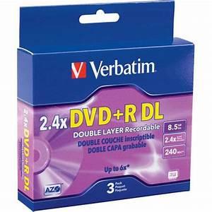 Double Layer Dvd : verbatim dvd r double layer recordable disc in jewel case ~ Kayakingforconservation.com Haus und Dekorationen