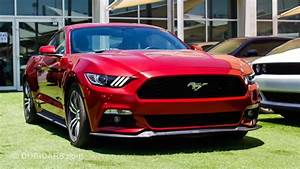 Ford Mustang V4 for sale: AED 66,000. Red, 2017