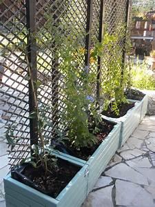 Jardiniere Sur Pied Plastique : jardini res brise vue homemade au jardin pinterest ~ Dode.kayakingforconservation.com Idées de Décoration