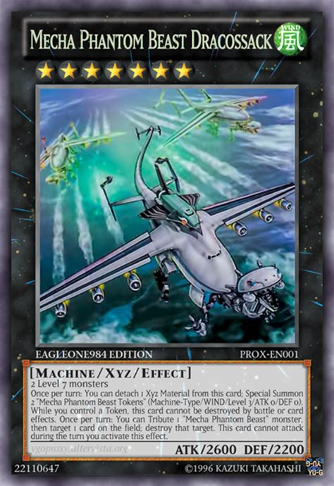 Mecha Phantom Beast Deck Link Format mecha phantom beast dracossack update 3 by eagleone984