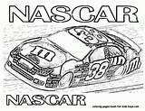 Coloring Nascar Police Popular Cars sketch template
