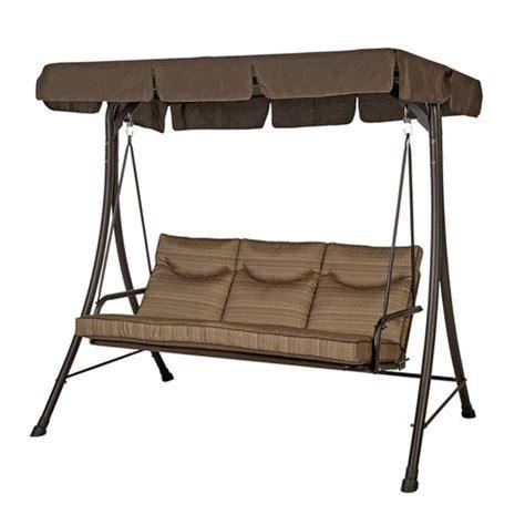 Shopko Patio Furniture Cushions by Rosemont 3 Person Cushion Swing Shopko