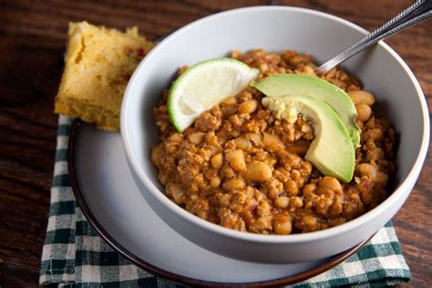 turkey  white bean chili healthy delicious