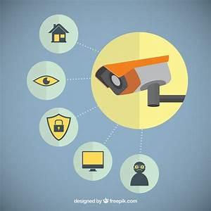 Caméra De Sécurité : cam ra de s curit t l charger des vecteurs gratuitement ~ Melissatoandfro.com Idées de Décoration