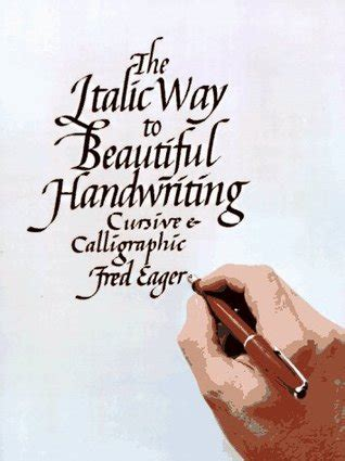 italic   beautiful handwriting cursive  calligraphic  fred eager