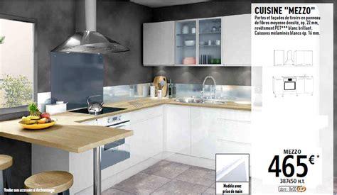 cuisine en kit brico depot cuisine brico depot mezzo le des cuisines