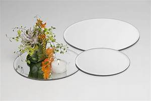 Deko Spiegel Rund : glasplatte mirror spiegel platte teller kerzenplatte ~ Whattoseeinmadrid.com Haus und Dekorationen