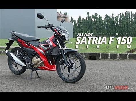 Review Suzuki Satria F150 by Suzuki All New Satria F150 2016 Test Ride Review Indonesia