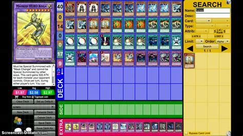 Yugioh Deck Build by Yugioh Deck Profile Feb 2015