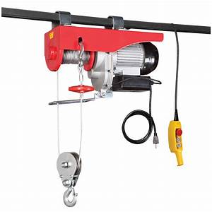 2000 Lbs  Electric Hoist With Remote Control