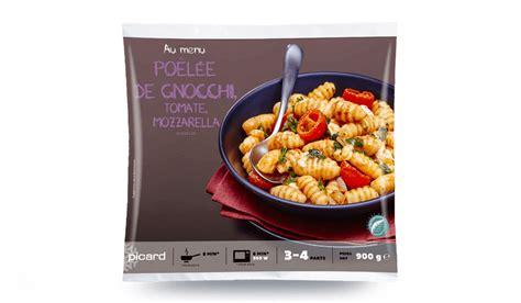 plats cuisin picard poêlée de gnocchis tomates mozzarella surgelés les