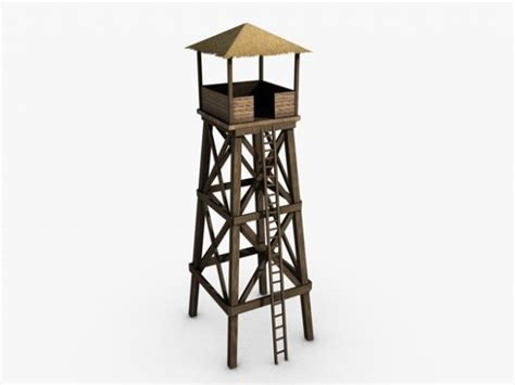 3D model Watchtower   CGTrader