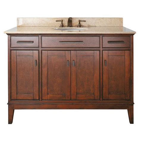 48 inch vanity cabinet only madison 48 inch vanity only in tobacco finish avanity